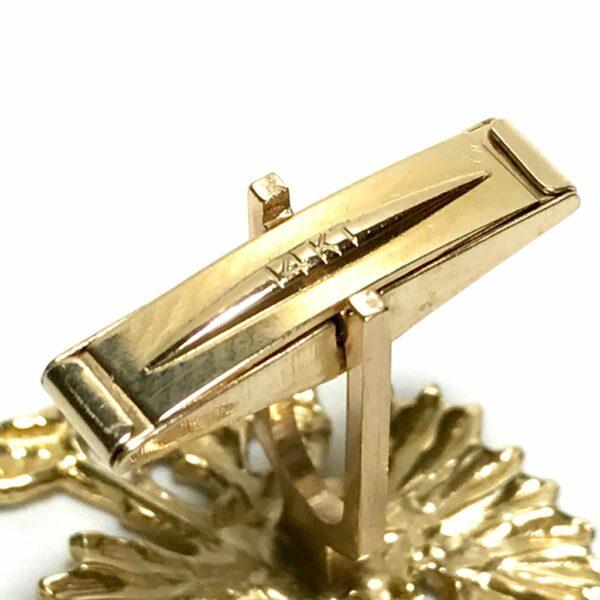 14K Gold Imperial Eagle Cufflinks