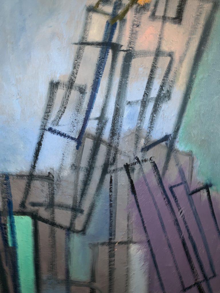 Adele Mailer Untitled Oil on Linen 1985