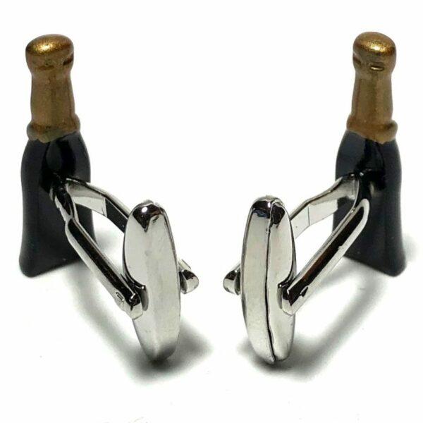 Champagne Bottle Pair Cufflinks