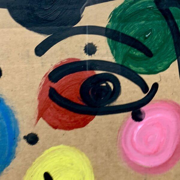 """Peter Keil """"Femme"""" Oil Painting"""