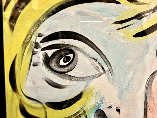 "Peter Keil ""Lola Montez"" Oil Painting"