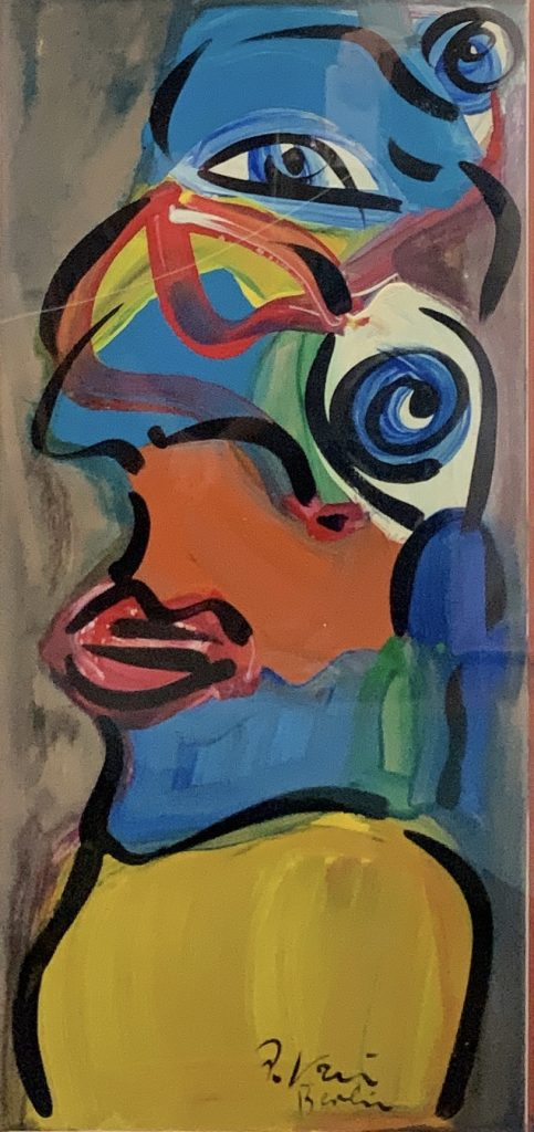 """Peter Keil """"The Beatles"""" Oil Painting"""