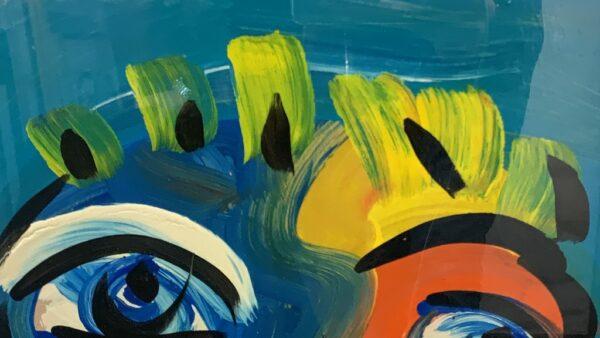 """Peter Keil """"The Beatles"""" Oil Painting 85"""