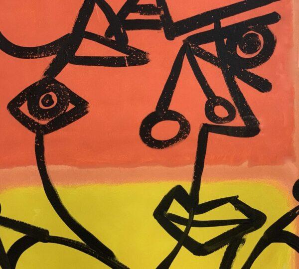 "Peter Keil ""Mark Rothko"" Oil Painting"