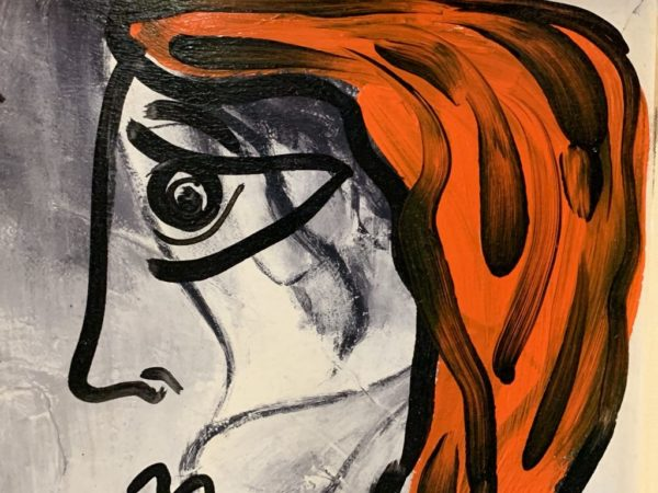 "Peter Keil ""Michaela"" Oil Painting"