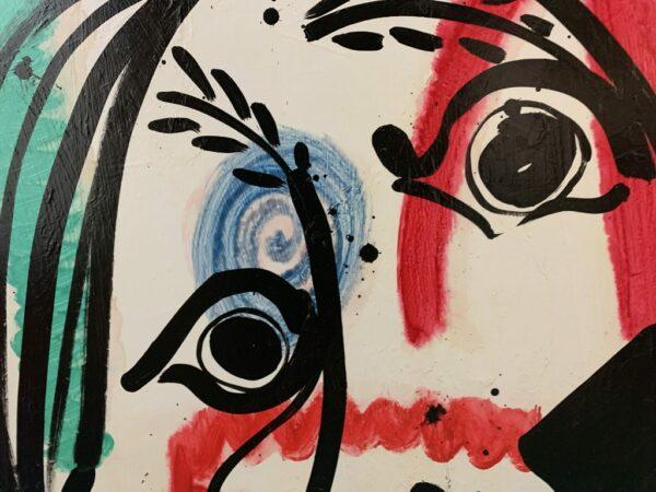 "Peter Keil ""Spanish Woman"" Oil Painting"