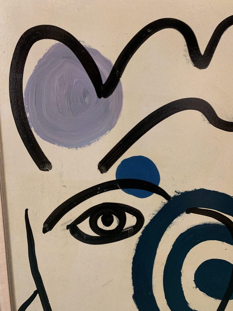 """Peter Keil """"Marlene Dietrich"""" Oil Painting"""
