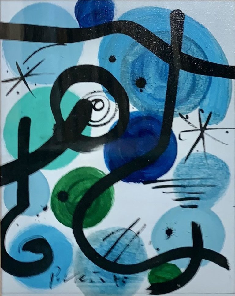 """Peter Keil """"The Blue Period"""" Oil Painting"""