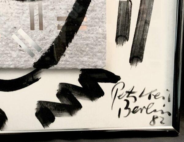 """Peter Keil """"The Berliners"""" Oil Painting"""