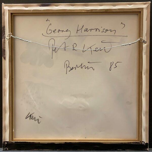 "Peter Keil ""George Harrison"" Oil Painting"