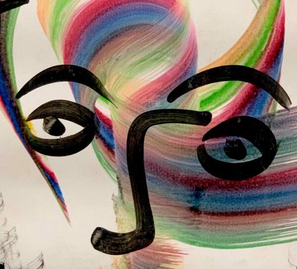 "Peter Keil ""The Spirit"" Acrylic Painting"