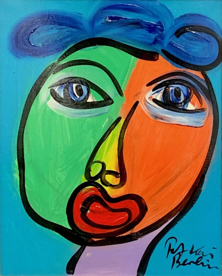 Peter Keil Abstract Expressionism Portrait