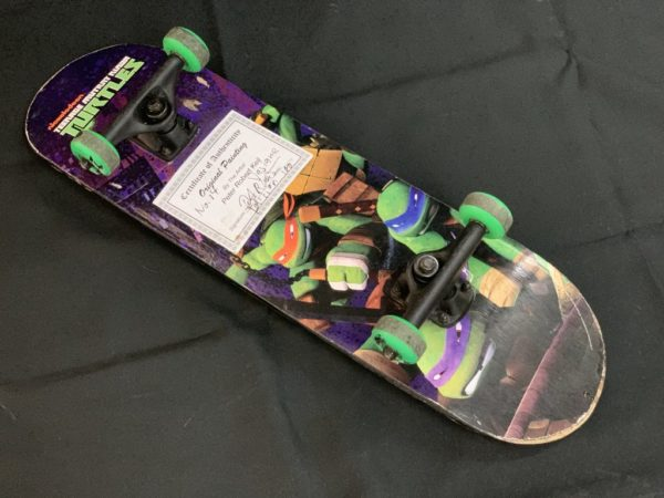 Peter Keil Abstract Oil Painted Skateboard