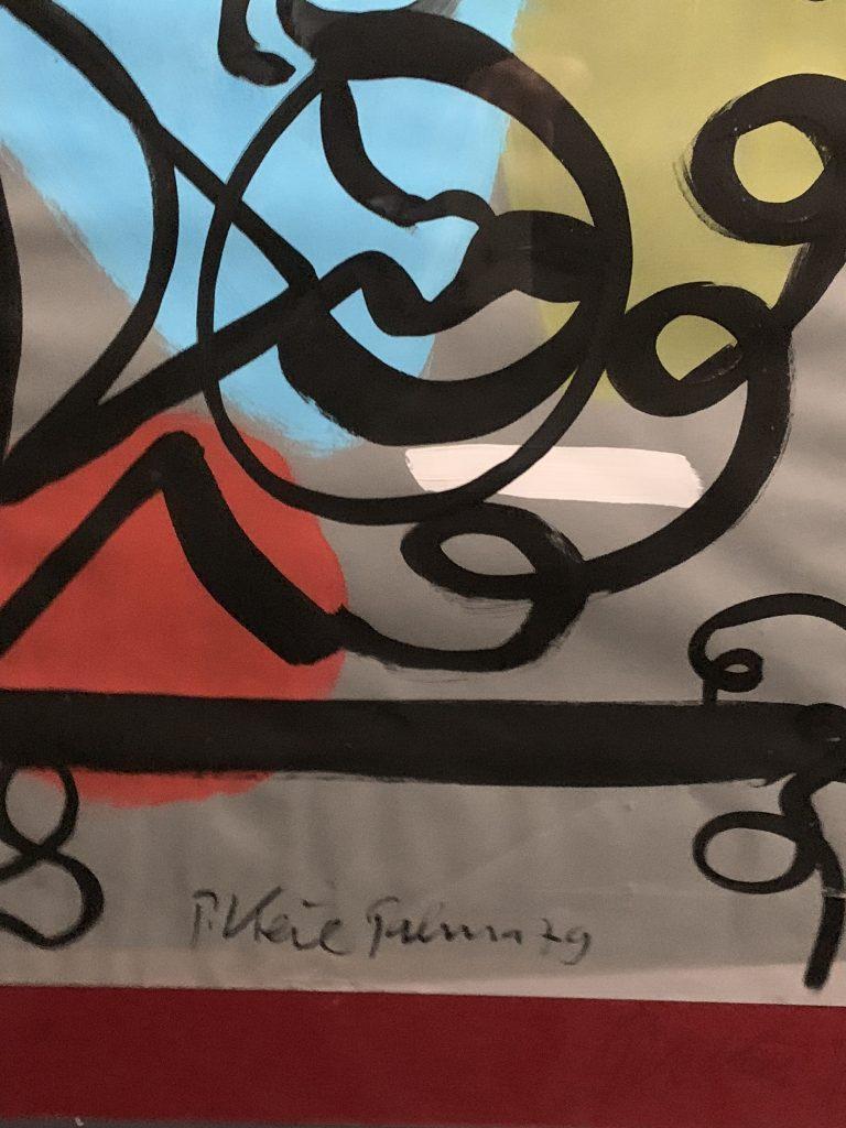 "Peter Keil ""Matador"" Painting Spain 1979"