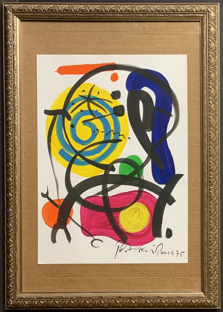 Peter Keil Abstract Oil Painting Bastille