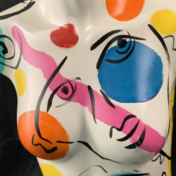 Peter Keil Abstract Painted Mannequin