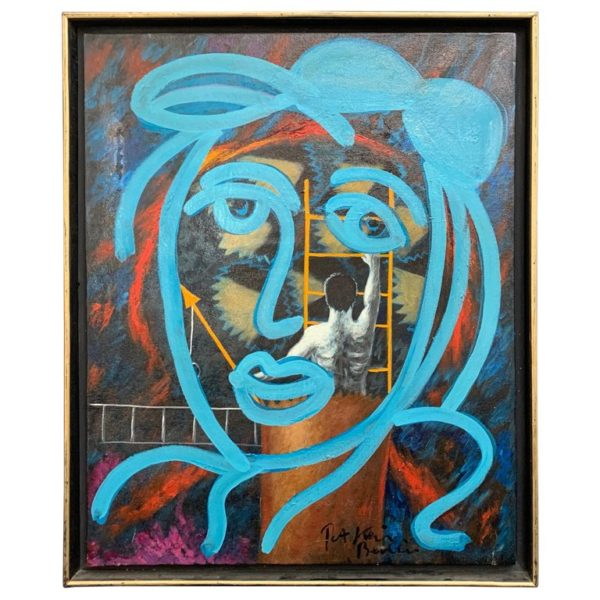 Peter Keil Abstract Expressionism Oil Painting