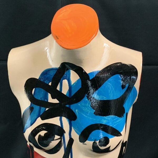 Peter Keil Oil Painted Mannequin 1980s