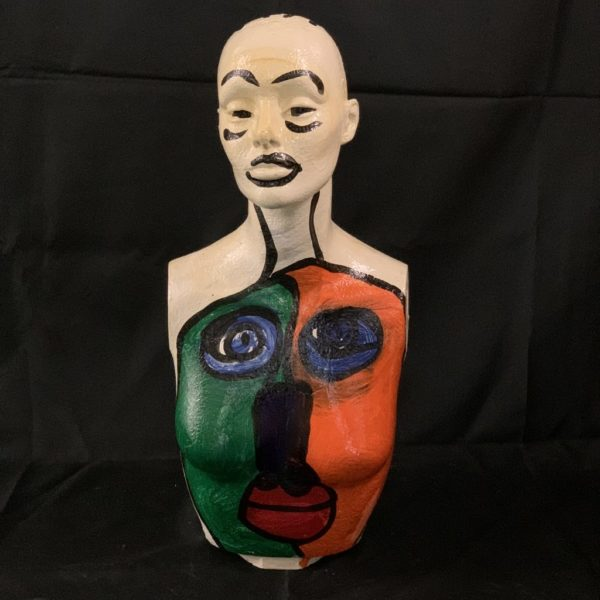 Peter Keil Painted Expressionist Mannequin