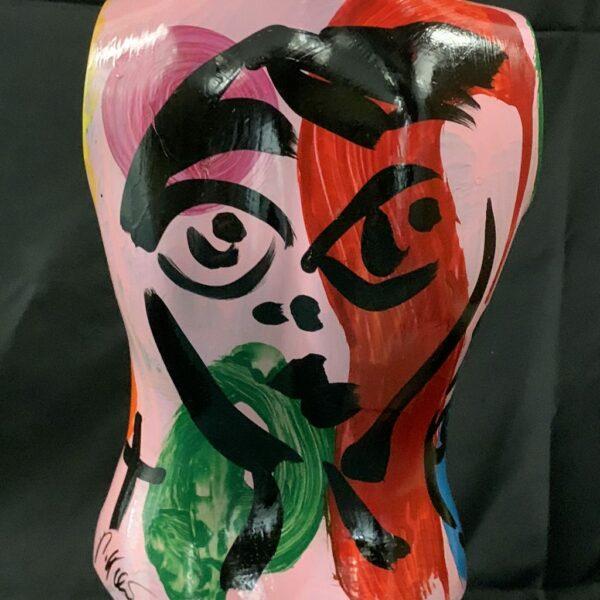 Peter Keil Pink Mannequin Torso