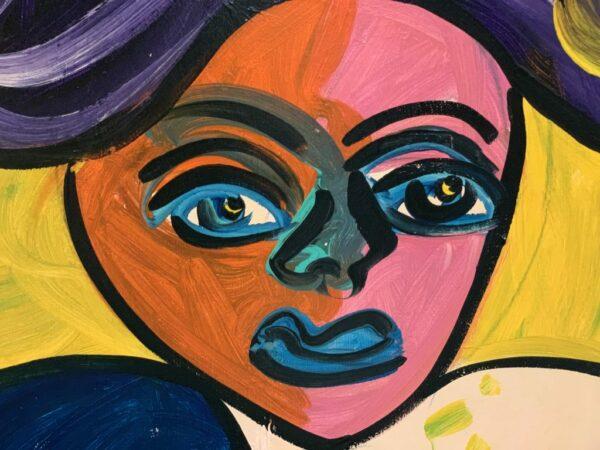 Peter Keil Portrait Oil Painting 1983