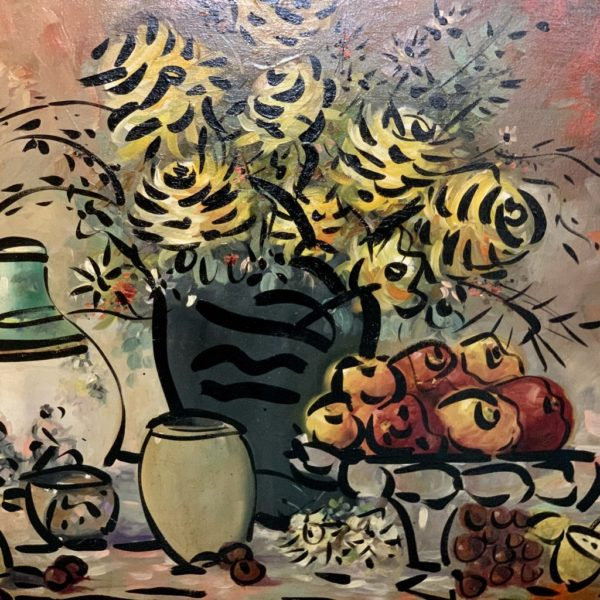 Peter Keil Still Life Painting Palma 1975