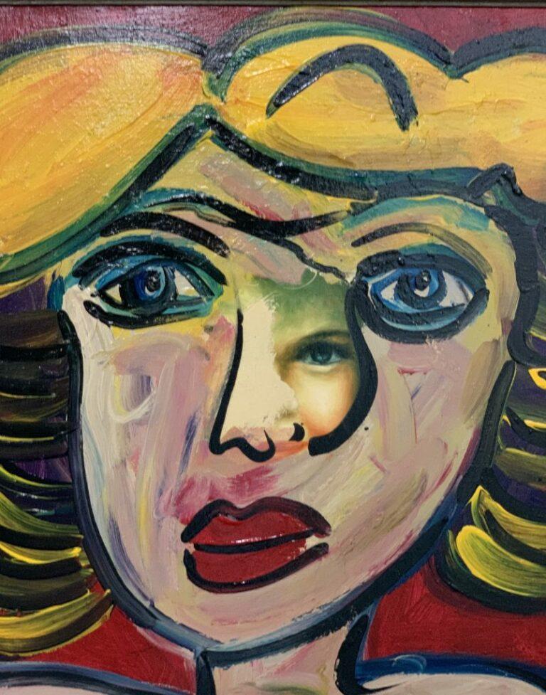 Peter Keil Third Eye Portrait Berlin 1982