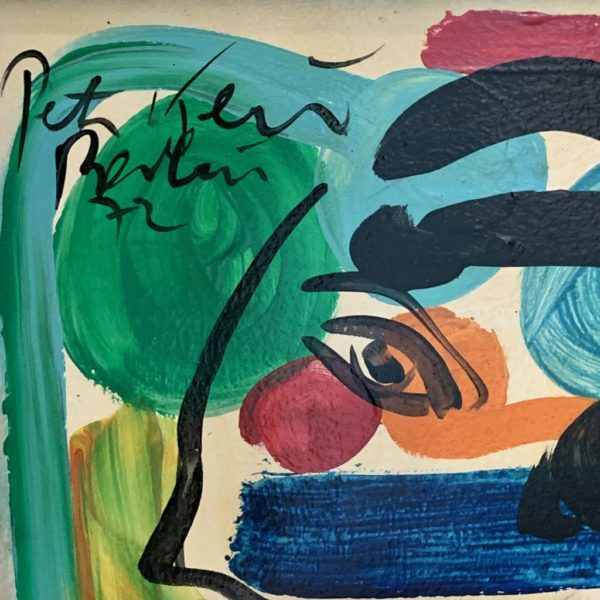 Peter Keil Young Andy Warhol Berlin 1972