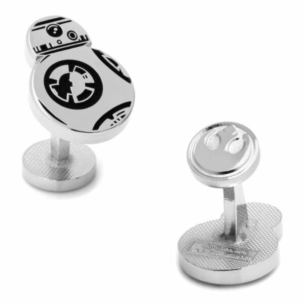 Star Wars Silver Sphero BB-8 Cufflinks 1