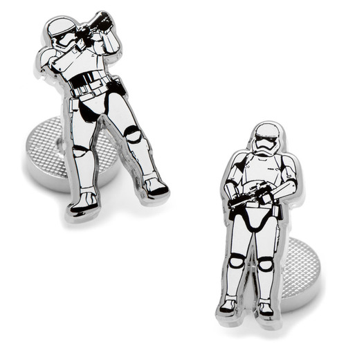 Star Wars Stormtrooper Action Enamel Cufflinks